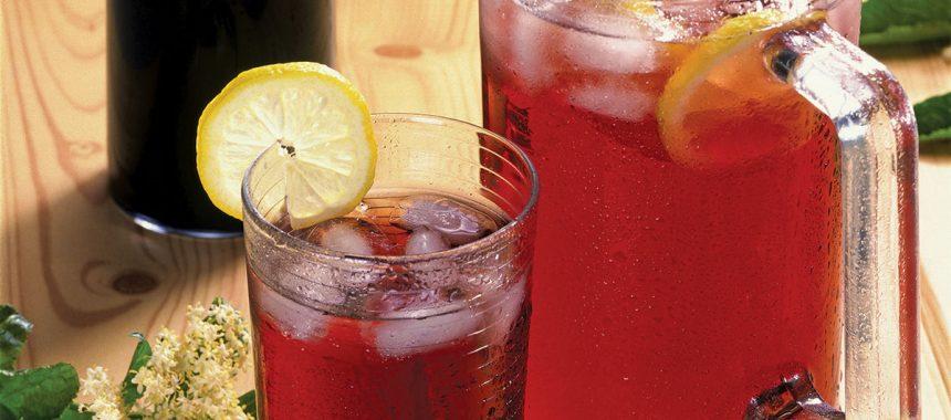 Homemade Elder-berry Juice