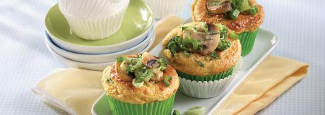 Potato Muffins with Vegetables