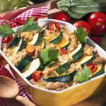 Vegetable - Courgette Baked with Buckwheat