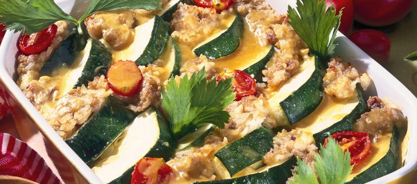 Vegetable – Courgette Baked with Buckwheat