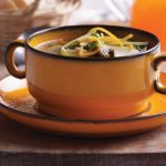 Fast Soup with Vegetables and Ginger