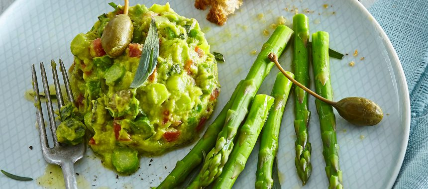 Tartar From Green Asparagus And Avocado Healthy Recipes