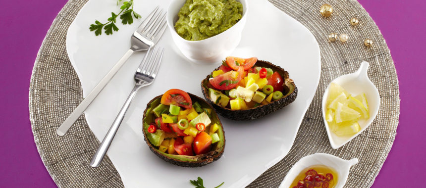 Stuffed avocado – a light and healthy meal