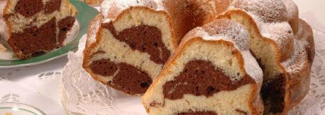 Marble sponge cake